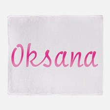 Oksana Throw Blanket