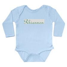 Rhiannon Long Sleeve Infant Bodysuit
