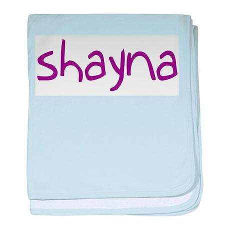 Shayna baby blanket