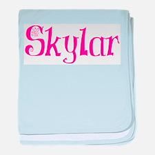 Skylar baby blanket
