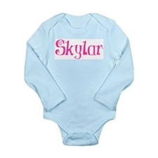 Skylar Long Sleeve Infant Bodysuit