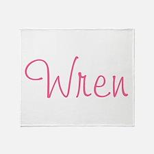 Wren Throw Blanket