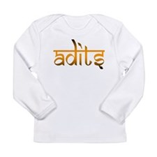 Adits Long Sleeve Infant T-Shirt