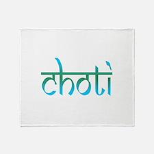 Choti Throw Blanket