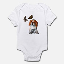 Pup and Butterfly's Infant Bodysuit