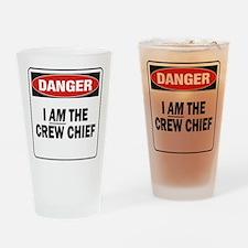 Crew Chief Drinking Glass