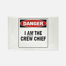 Crew Chief Rectangle Magnet