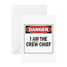 Crew Chief Greeting Card