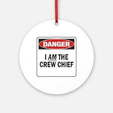 Crew Chief Ornament (Round)