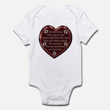 Pawprint Memory Infant Bodysuit