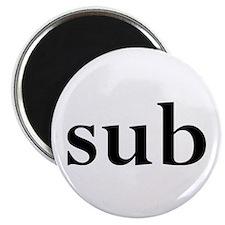 "sub 2.25"" Magnet (10 pack)"