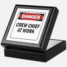Crew Chief Keepsake Box