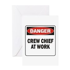 Crew Chief Greeting Card