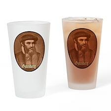 Gutenberg Drinking Glass