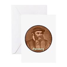 Gutenberg Greeting Card