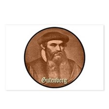 Gutenberg Postcards (Package of 8)