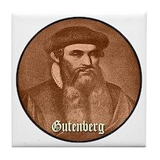 Gutenberg Tile Coaster