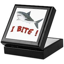 Shark - I Bite - Keepsake Box