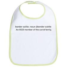 Border Collie Definition Bib
