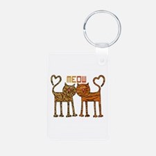 Cute Meow Cats Keychains