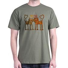 Cute Meow Cats T-Shirt