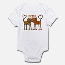Cute Meow Cats Infant Bodysuit