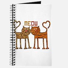 Cute Meow Cats Journal