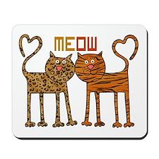 Cute Meow Cats Mousepad