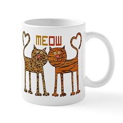 Cute Meow Cats Mug