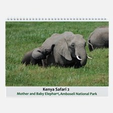 Kenya Safari 2 Wall Calendar
