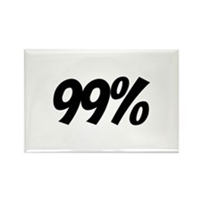We Are 99 Percent Rectangle Magnet