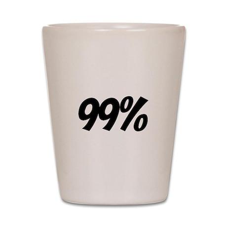 We Are 99 Percent Shot Glass