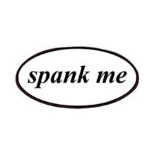 Spank Me B/W Patches