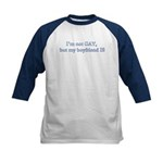 I'm not GAY Navy Kids Baseball Jersey