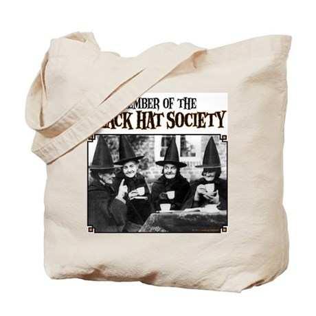 Black Hats Tote Bag