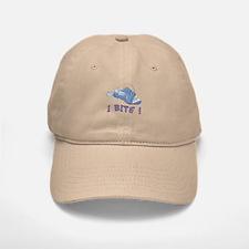 Piranha - I Bite! (blue) Baseball Baseball Cap