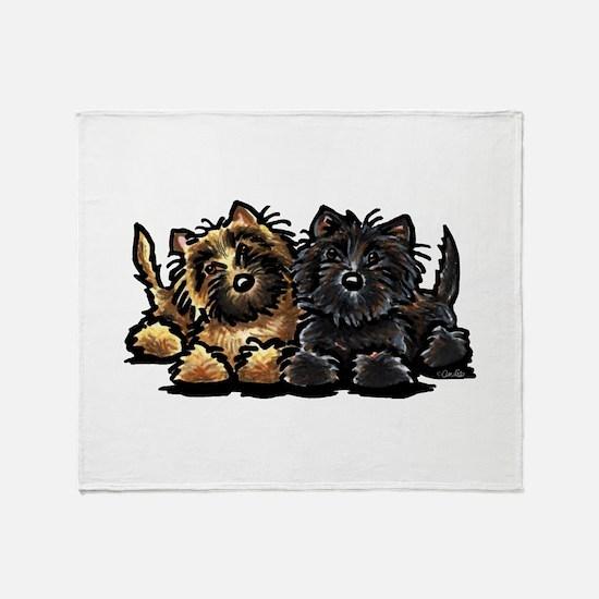 Cairn Terriers Throw Blanket