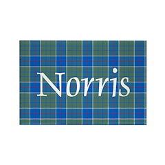 Tartan - Norris Rectangle Magnet
