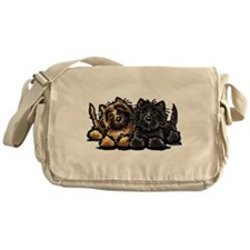 Cairn Terriers Messenger Bag