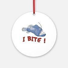 Piranha - I Bite! Ornament (Round)