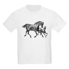 Beautiful Mare and Foal T-Shirt