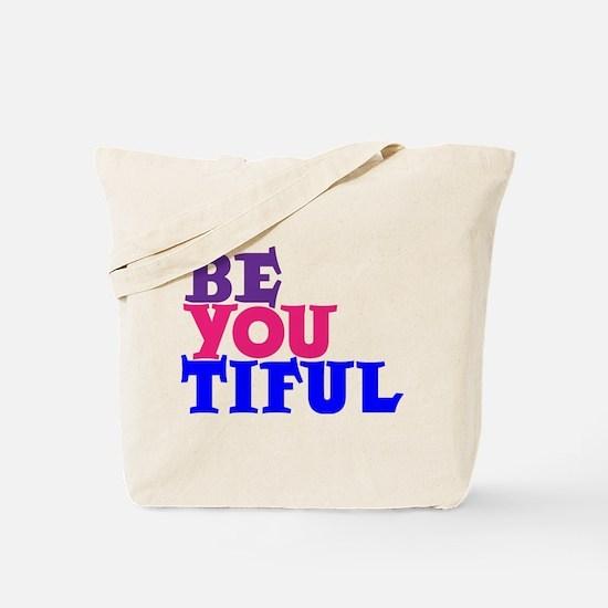 BE-YOU-TIFUL Tote Bag