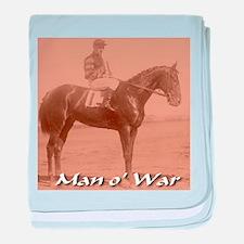Man o' War baby blanket