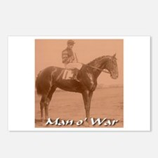 Man o' War Postcards (Package of 8)