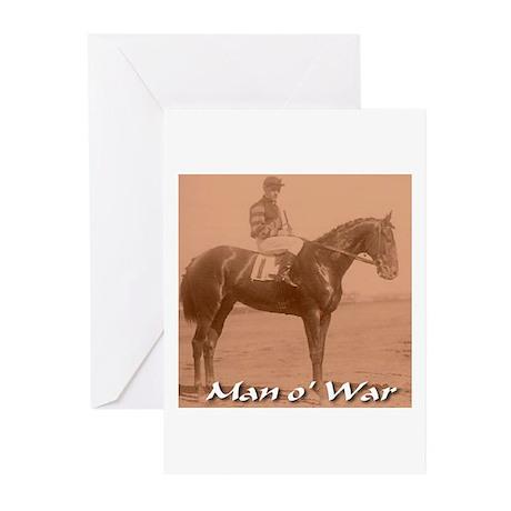 Man o' War Greeting Cards (Pk of 10)
