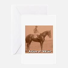 Man o' War Greeting Card