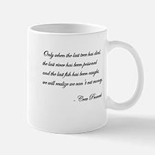 Cree Proverb Mug