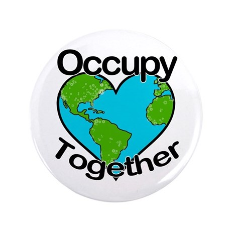 "Occupy Together 3.5"" Button (100 pack)"