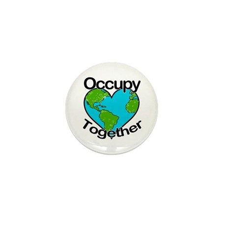 Occupy Together Mini Button (10 pack)