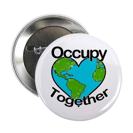 """Occupy Together 2.25"""" Button"""